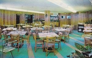 The Loff Restaurant Interior Mansfield Ohio 1957