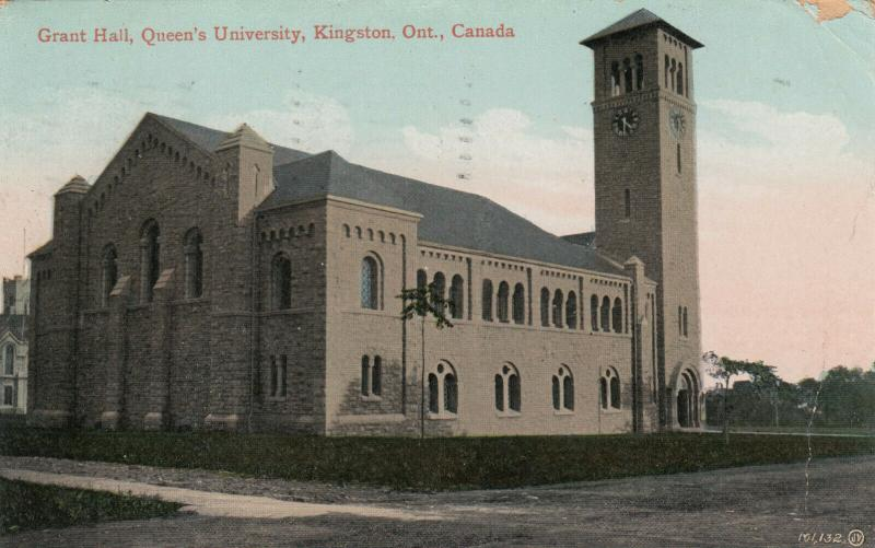 KINGSTON , Ontario , PU-1911 ;  Grant Hall , Queen's University