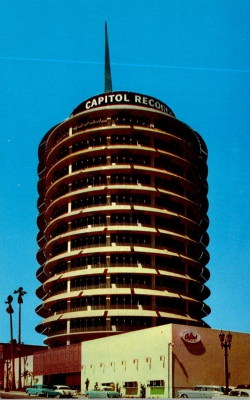 California Hollywood The Capitol Tower