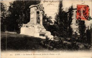 CPA LYON-La Statue de Burdeau au Jardin des Plantes (426983)
