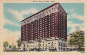 Michigan Detroit Hotel Statler 1944