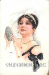 Artist Signed USA bal 1913 some corner wear more so right bottom corner, wate...
