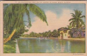 Florida Miami Beach An Enchanting Spot On The Water 1943