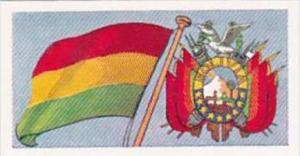 Amaran Tea Trade Card Flags &  Emblems No 24 Bolivia