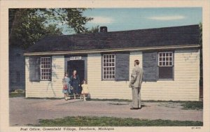 Post Office Greenfield Village Dearborn Michigan