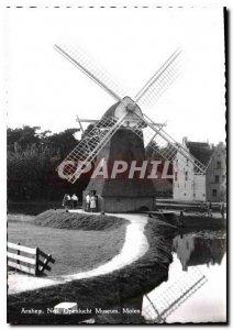 Modern Postcard Arnhem Ned Openlucht Museum Molen