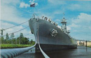 U. S. S. North Carolina, Battleship Memorial, Wilmington, North Carolina, 40-60s