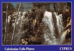 Cyprus Caledonian Falls Platres Waterfall