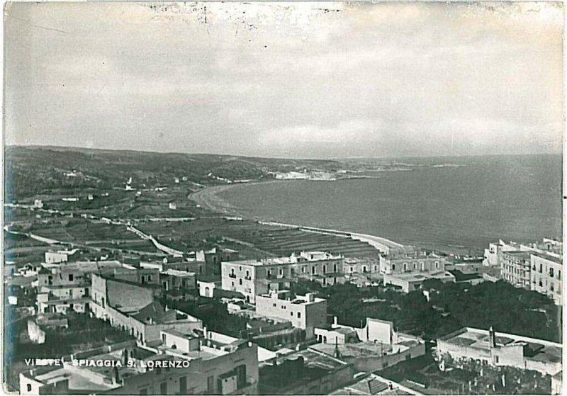 CARTOLINA d'Epoca - FOGGIA: VIESTE 1952