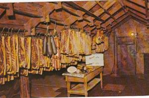 Iowa Amana Meats Hanging From Garret Rafters Amana Meat Shop