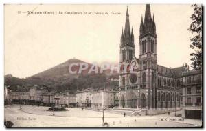 Old Postcard Voiron La Cathedrale and Coleau of Vouise