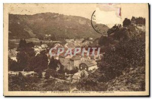 Postcard Old Paucogney Haute Saone General view