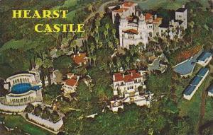 California Cambria Aerial Of Hearst Castle