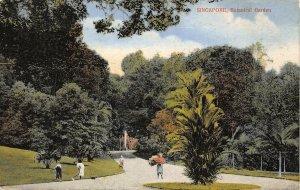 Singapore Singapore Botanical Garden Promenade Postcard
