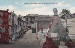 NEW ORLEANS, Louisiana, 1900-10s; Old St. Louis Cemetery