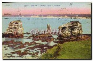 Old Postcard Royan Rocks Isoles has Vallieres