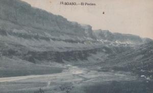 El Pocino Soaso Antique Postcard