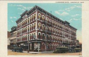 ZANESVILLE, Ohio, 00-10s ; Clarendon Hotel