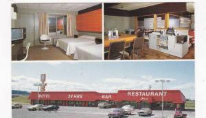 24 hours Motel Restaurant, Lescale,  St. Pacome-Kamouraska,  Quebec,   Canada...