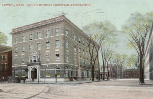LOWELL , Massachusetts, PU-1908; Young Women's Christian Association