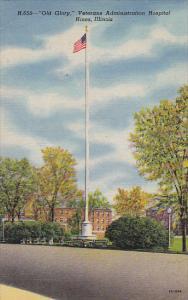 Old Glory Flag, Veterans Administration Hospital, Hines, Illinois, 1930-40s