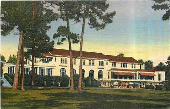 CA, Pebble Beach, Florida, Del Monte Lodge, Curteich 4B-H163