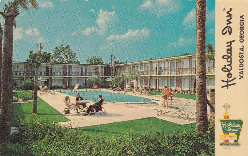 Holiday Inn, Swimming Pool, VALDOSTA, Georgia, 40-60's