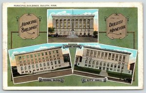 Duluth MN~Municipal Buildings~Courthouse~Federal~City Hall~Art Nouveau~1933