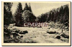 Postcard Old Sumava Vydra