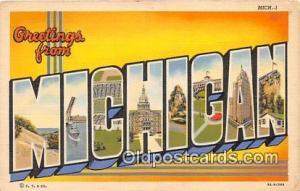 Michigan, USA Postcard Post Cards Michigan, USA