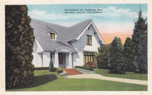 BEVERLY HILLS , California , 1910s ; Charles Ray Home
