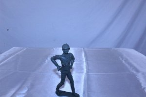 Vintage Plastic Toy Soldier U.S. Corporal 5 1/8 tall