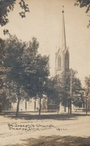 RP: CHENOA , Illinois , 1912 ; St. Joseph's Church ; C.R. CHILDS