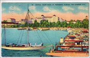 Central Yacht Club, St Petersburg FL