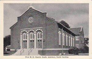 North Carolina Asheboro First M E Church South Albertype