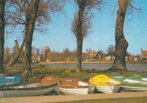 Tina Jane Claire Gareth Trixie Named Boats Suffolk Thorpeness Postcard