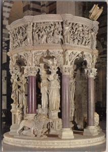 PISA, Duomo, Pulpito di Giovanni Pisano, used Postcard