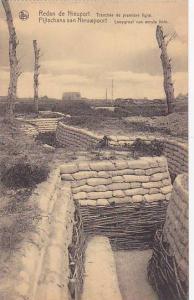 Tranchee De Premiere Ligne, Redan De Nieuport (West Flanders), Belgium, 1900-...