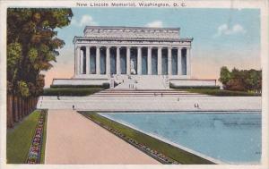 New Lincoln Memorial Washington DC 1925