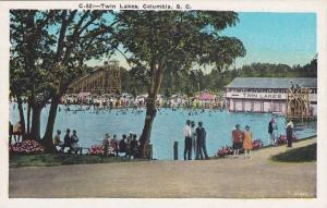 People swimming at Twin Lakes, Columbia South Carolina, 00-10s