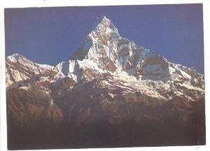 South-west view of Machhapuchhare, Nepal, 50-70s