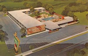 Hopkinsville Kentucky Holiday Inn Birdseye View Vintage Postcard K670828