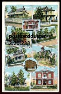 233 - VICTORIAVILLE Quebec Postcard 1910s Quelque Residences