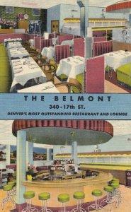DENVER , Colorado , 1930-40s ; Belmont Restaurant