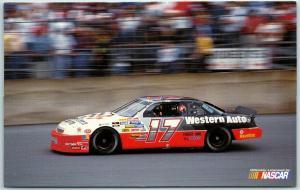 1994 DARRELL WALTRIP Postcard NASCAR Racing Car #17 Competitive Motorsports
