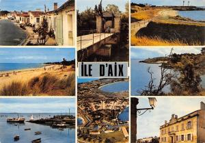 France Ile d'Aix multiviews La Rue Marengo Le Pont Levis Port Harbour