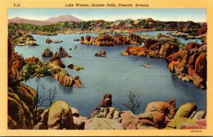 Arizona Prescott Granite Dells Lake Watson Curteich