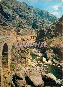 Modern Postcard Corsica oasis Beaute La Scala di Santa Regina
