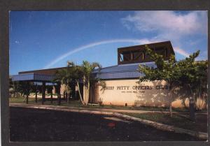 HI Chief Petty Officer's Club Pearl Harbor Hawaii Postcard Navy Naval Station PC