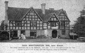 Dick Whittington Inn near Kinver Worcester Postcard